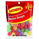 Sathers Spice Drops, (Pack of 12)