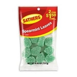 Sathers Spearmint Leaves, (Pack of 12)