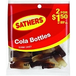 Sathers Cola Bottles, (Pack of 12)