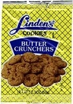 Lindens Butter Crunchers Cookies, (Pack of 36)