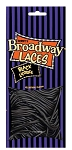 Broadway Black Licorice Laces, (Pack of 12)