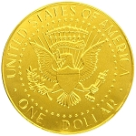 Fort Knox US Dollar Medallions 0.8 Ounce Chocolate Coins, (Pack of 30)