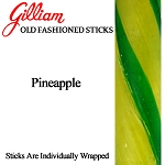 Gilliam Old Fashioned Pineapple Stick Candy, (Pack of 80)