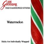 Gilliam Old Fashioned Watermelon Stick Candy, (Pack of 80)