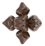 Asher's Dark Chocolate Covered Marzipan, 6 Pounds