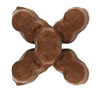 Asher's Milk Chocolate Orange Creams Candy, 6 Pounds