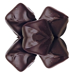 Asher's Sugar Free Dark Chocolate Covered Vanilla Caramel, 6 Pounds