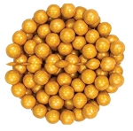 Sixlets Shimmering Gold Chocolate Candy, 10 Pounds
