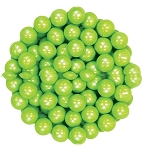 Oak Leaf Shimmering Lime Green Candy, 10 Pounds