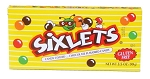 Sixlets Chocolate Candy Movie Theater Size Candy 3.5 Ounce Boxes, (Pack of 10)