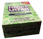 Now and Later Pineapple Candy, (Pack of 24)