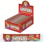 Shivers Gumballs 5 Ball Tubes, (Pack of 24)