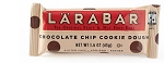 Larabar Chocolate Chip Cookie Dough Fruit and Nut Bars, (Pack of 16)