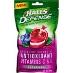 Halls SF Pomegranate Berry (12 Bags)