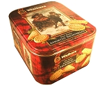 Walkers Pure Butter Shortbread Cookie Assortment 58.4 Ounce Tin