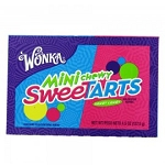 Wonka Chewy Mini Sweet Tarts Candy Video Box Theater Size Candy, (Pack of 12)
