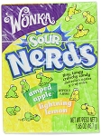 Wonka Nerds, Sour Lemon and Green Apple, (Pack of 24)
