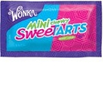 Wonka Mini Chewy Sweet Tarts, (Pack of 24)