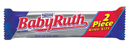 King Size Baby Ruth Candy | Theonlinecandyshop.com | Buy ...