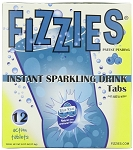 Fizzies Blue Raspberry Drink, 12 Tablets (6 Pack)