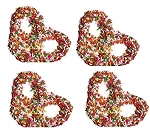 Premier Milk Chocolate Dipped Pretzels With Sprinkles, 3 Pounds