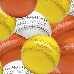 Oak Leaf Baseball Gumballs, (Pack of 800)