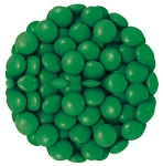 M & M Dark Green Candy, 5 Pounds