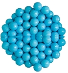 Sixlets Powder Blue Chocolate Candy, 12 Pounds