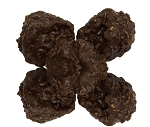 Asher's Dark Chocolate Coconut Clusters, 5 Pounds