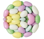 Traditional Multi Color Jordan Almonds, 7 Pounds