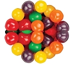 Sweets Candy Assorted Fruit Sours, 5 Pounds