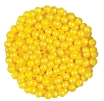Oak Leaf Shimmering Yellow Candy, 10 Pounds