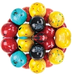 Dubble Bubble Berry Blast One Inch Gumballs, (Pack of 850)