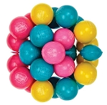 Dubble Bubble Cotton Candy One Inch Gumballs, (Pack of 850)