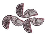 Black Cherry Fruit Slices, 5 Pounds