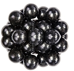 Oak Leaf Black One Inch Gumballs, (Pack of 850)