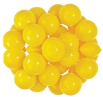 Oak Leaf Yellow One Inch Gumballs, (Pack of 850)