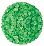 Green Lime Candy Rock Candy Crystals, 5 Pounds