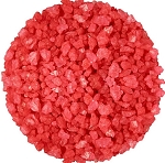 Red Strawberry Rock Candy Crystals, 5 Pounds