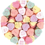 Necco Conversation Hearts, (8 Pounds)