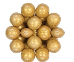 Oak Leaf Shimmering Gold One Inch Gumballs, (Pack of 720)