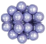 Oak Leaf Shimmering Purple One Inch Gumballs, (Pack of 720)