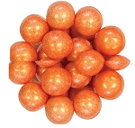 Oak Leaf Shimmering Orange One Inch Gumballs, (Pack of 720)