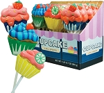 Kokos Cupcake Lollipops, (Pack of 18)