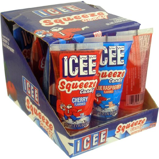 Icee Squeeze Candy Pack Of 12