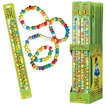 Kokos Worlds Biggest Sour Candy Necklace, (Pack of 24)