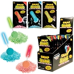 Kokos Snap and Glow Lollipops, (Pack of 18)