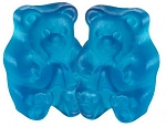 Albanese Beary Blue Raspberry Gummy Bears, 5 Pounds
