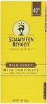 Scharffen Berger Milk Nibby Chocolate Bars, (Pack of 12)