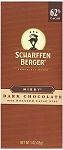 Scharffen Berger Dark Chocolate Nibby Bars, (Pack of 12)
